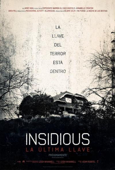 Poster Insidious 4: La Última Llave