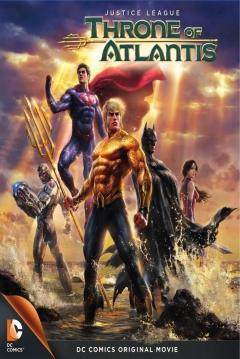 Poster La Liga de la Justicia: El Trono de Atlantis