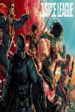 Poster Liga de la Justicia - 2ª Parte