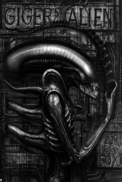 Poster Giger's Alien