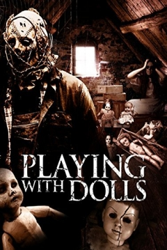Poster Playing with Dolls