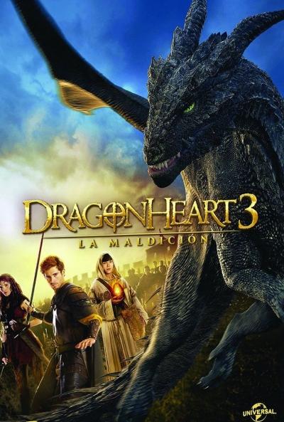Poster Dragonheart 3: La Maldición