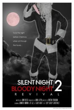 Poster Noche Silenciosa, Noche Sangrienta 2