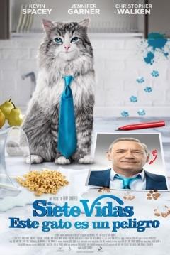 Poster Siete Vidas: Este Gato es un Peligro