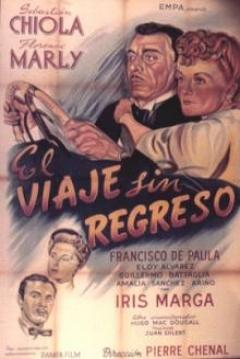 Poster Viaje sin Regreso