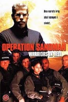 Poster Operation Sandman: Warriors in Hell