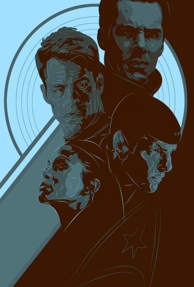 Poster Star Trek 4