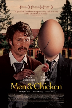 Poster Men & Chicken