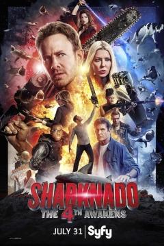 Poster Sharknado: Que la 4ª te Acompañe