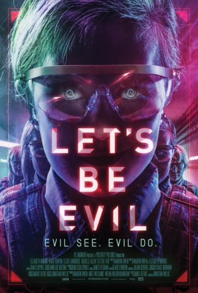 Poster Let's Be Evil