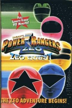 Poster Power Rangers Zeo: Zeo Quest