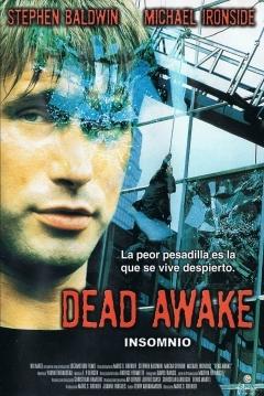 Poster Dead awake: Insomnio