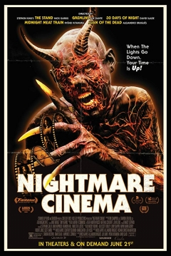 Poster Nightmare Cinema