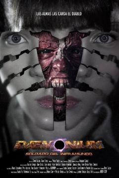Poster Daemonium: Soldado del Inframundo
