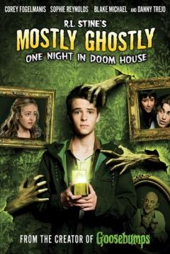 Poster Una Noche en la Casa Maldita