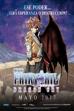 Poster Fairy Tail: Dragon Cry