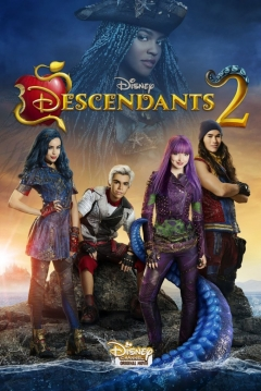 Poster Los Descendientes 2