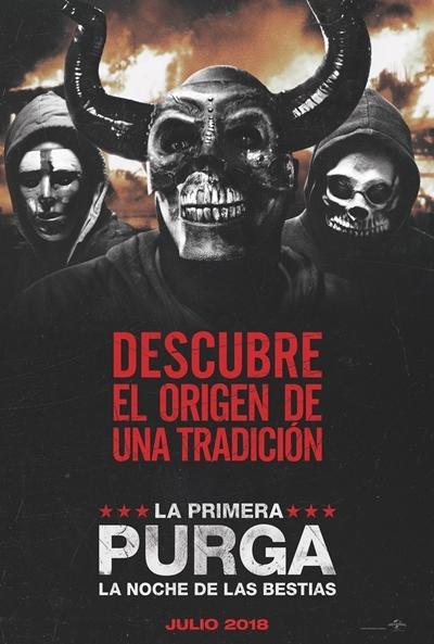 Poster La Primera Purga: La Noche de las Bestias