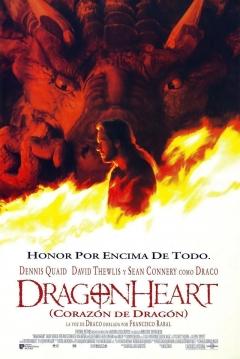 Poster DragonHeart (Corazón de Dragón)