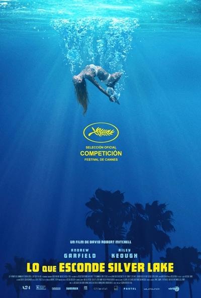 Poster Lo que Esconde Silver Lake