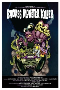 Poster Badass Monster Killer