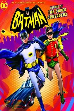 Poster Batman: El Regreso de los Cruzados Enmascarados