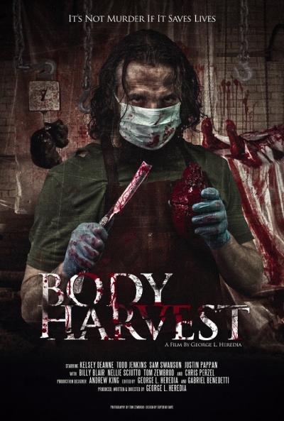 Poster Body Harvest
