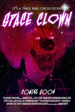 Poster Space Clown