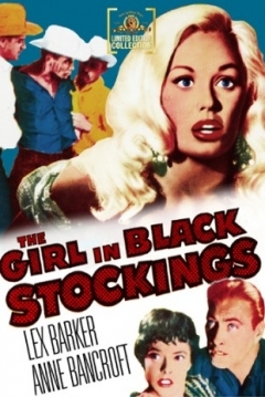 Poster The Girl in Black Stockings