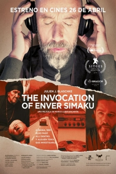 Poster The Invocation of Enver Simaku