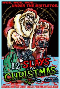 Poster The 12 Slays of Christmas