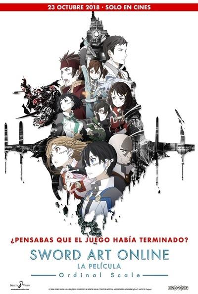 Ficha Sword Art Online: La Película - Ordinal Scale