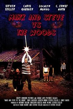 Poster Mark and Steve vs the Woods