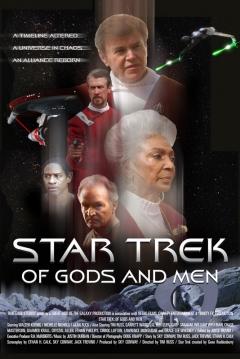 Poster Star Trek: De Dioses y Hombres