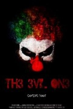Poster 8 Ball Clown
