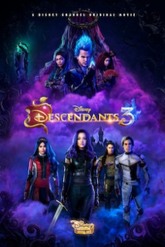Poster Los Descendientes 3