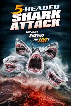 Ficha El Ataque del Tiburón de 5 Cabezas