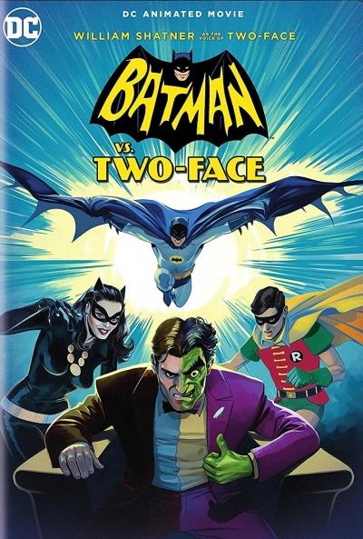 Poster Batman vs. Dos Caras