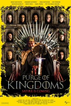Poster Purge of Kingdoms: The Unauthorized Game of Thrones Parody
