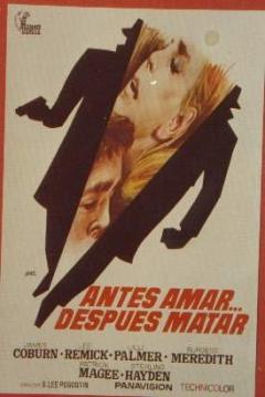 Poster Antes Amar... Después Matar