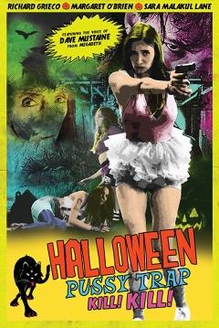 Poster Halloween Pussy Trap Kill Kill
