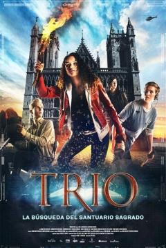 Poster Trío: La Búsqueda del Santuario Sagrado