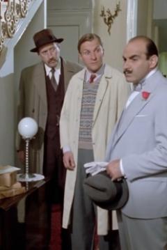 Poster Agatha Christie: Poirot. Peligro en la Casa de la Punta