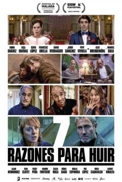 Poster 7 Razones para Huir