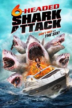 Ficha El Ataque del Tiburón de 6 Cabezas