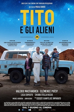 Poster Little Tito and the Aliens