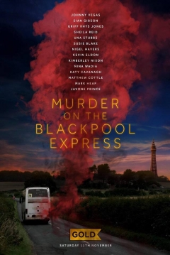 Poster Murder on the Blackpool Express