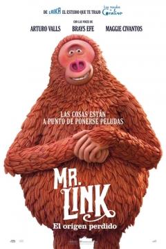 Poster Mr. Link. El Origen Perdido