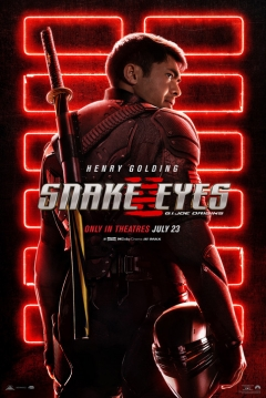 Poster Snake Eyes: El  Origen