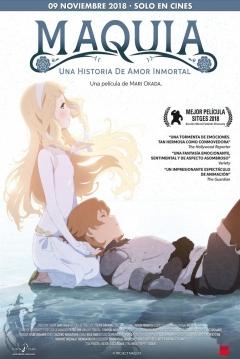 Poster Maquia: Una Historia de Amor Inmortal